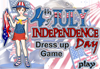 4th of July Dressup Game
