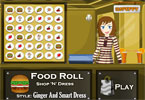 Food Roll Game - Style Ginger And Smart Dress
