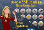 Makeup Matching Game - Style - Sports Dress